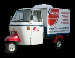 Noleggio camper furgoni pulmini auto provincia padova for Noleggio cabina invernale colorado